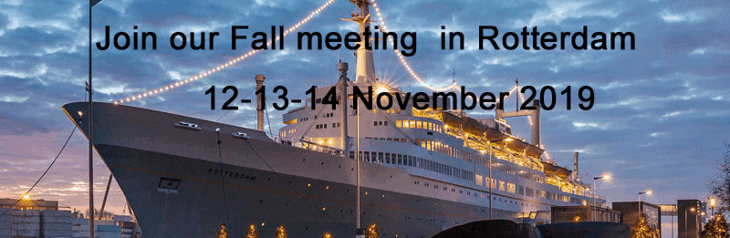 Fall meeting Rotterdam 2019